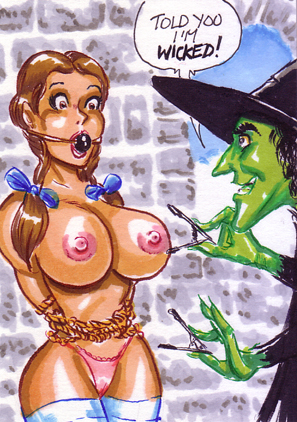 good the witch wendy little Male to female porn comic