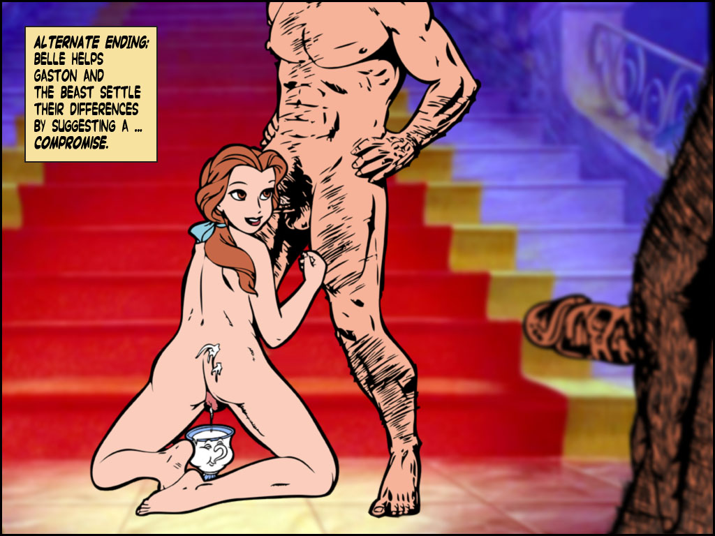 belle nude and beast beauty the My little pony game