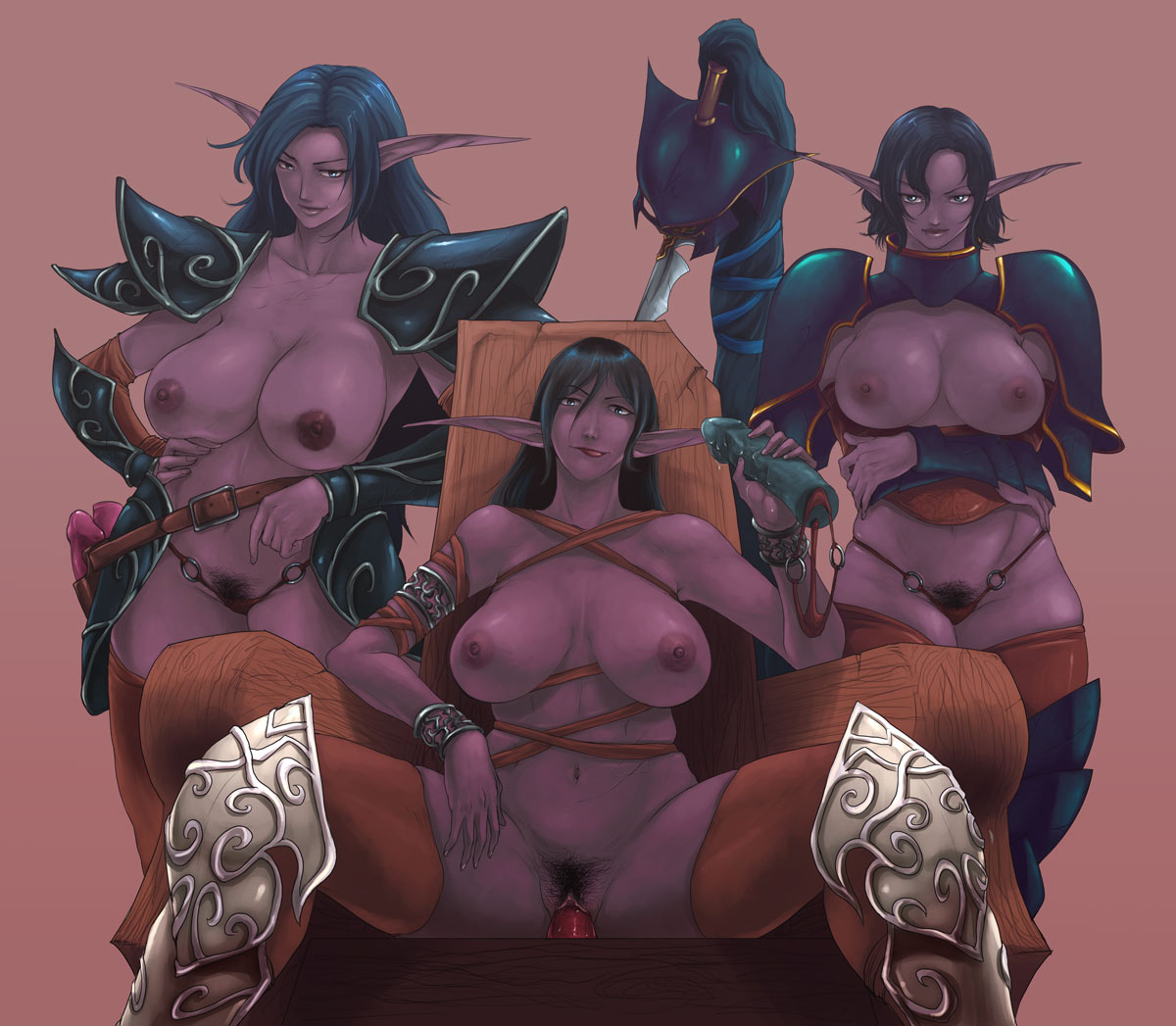 elf-san_wa_yaserarenai. Bloodstained ritual of the night where to go after gebel