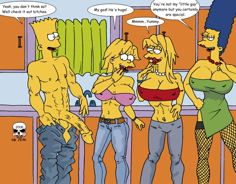 marge bart with naked simpson Night in the woods mr chazokov