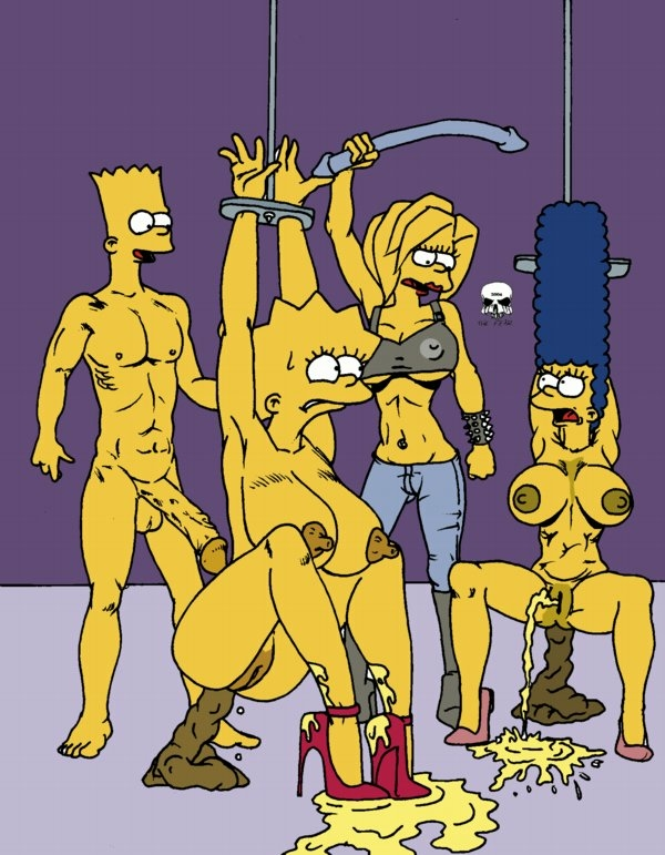 bart marge naked simpson with Pokemon misty in a bikini