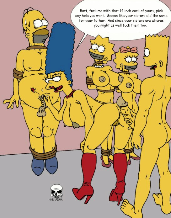 marge bart simpson with naked Zelda breath of the wild purah