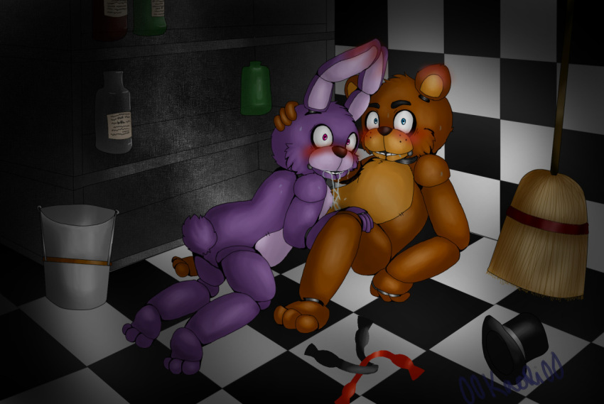freddy's pictures nights five at bonnie Say sike right now meaning