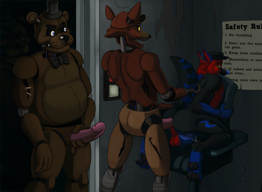 nights freddy's furry five at Cum on my big ass