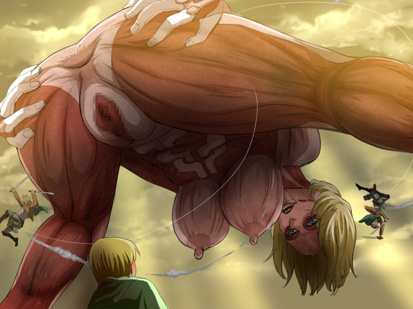 on porn female titan titan attack Spike from land before time